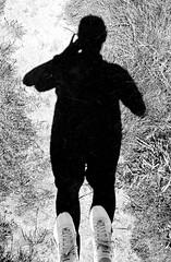 Big foot (Red-olution) Tags: shadow feet monochrome blackwhite