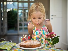 Birthday Cake III (B-Lichter) Tags: birthday portrait girl childhood cake pen lumix candles child olympus celebration wish 2514 panaleica epl7