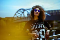 _DSC8209 (L a t i t u d e) Tags: model girl curlyhair sunnies nikond3 sigma50mmf14art