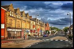 Chorley New Rd (ianfitter) Tags: horwich sunlight lowsun