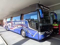 CIECB at Goodwins at Blackpool Football Club (j.a.sanderson) Tags: ciecb goodwins blackpool football club vanhool tx17 astron ef this is official english cricket board tour bus for england team on day photo was taken it use bury fc coach coaches 11go