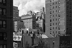 New York City | Upper East Side Cityscape 01 (Christopher James Botham) Tags: nyc newyork newyorkcity new york city cityscape urban architecture building tower day daylight manhattan uppereastside ues upper east side fireescape watertower brick sony