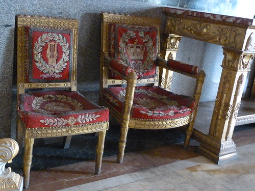 Reggia Caserta - Bourbon royal palace, state rooms, chairs