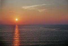 Serene Biarritz Sunset (Skylark92) Tags: sunset biarritz france sea ocean frankrijk serene zonsondergang subtle