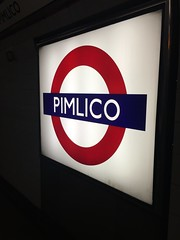 Pimlico (Cle0patra) Tags: uk holiday2016 2016 london pimlico roundel underground sign tube station