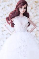 2016/008 (NOVA FU) Tags: wedding white black flower nova fashion bride doll dress stereo agnes royalty smoked fr2