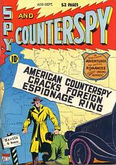 Spy vs Counterspy 1 (Michael Vance1) Tags: art adventure artist anthology comics comicbooks cartoonist spy silverage