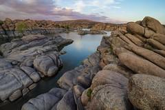 Watson Lake (www.arayphoto.com) Tags: formations granite rocks sunset landscape nature arizona prescott lake watson