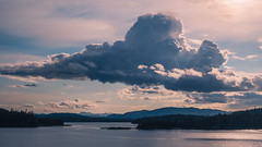 Endless Sunset (Enzymatic RXN) Tags: travel sunset summer sky beautiful alaska clouds islands southern fujifilm xe1 fujix