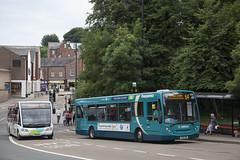 CDU_141 (Stuart's Transport) Tags: durham bus nebuses arriva 64 arrivanortheast enviro200 adl yx10ebn 1323