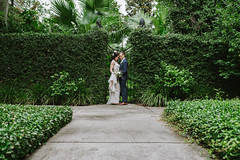 Mother Nature (conceptaphoto) Tags: green nature bride groom couple wedding savannah d750 35mm sigma
