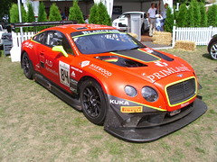 Bentley Continental GT3 (Zappadong) Tags: auto classic car automobile continental voiture days coche classics oldtimer schloss oldie bentley carshow gt3 youngtimer automobil 2015 dyck oldtimertreffen zappadong