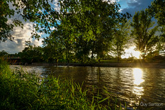 Late evening on the river (guysamsonphoto) Tags: sunset river rivire hdr coucherdesoleil victoriaville victo rivireduqubec rivirenicolet guysamson zeiss1635f4 aurorahdrpro sonyalpha6300
