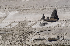 a family of pointed rocks (arcibald) Tags: peru rockface arequipa