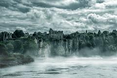 Misty Chepstow Castle (karlmccarthy1969) Tags: castle chepstow wales mist