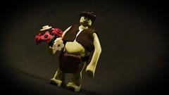LEGO Grawp (Geertos13) Tags: harry potter custom minifigure grawp giant hagrid brother forest flowers years 57 forbidden umbridge halfgiant lego