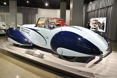 The New Petersen Automotive Museum (USautos98) Tags: 1937 delahaye 135 cabriolet
