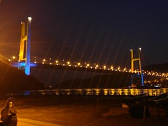 20160220_185759 (SK2 416) Tags: hongkong   mobilecamera lg nightview    bridge