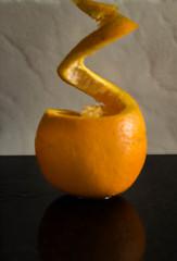 23 orange peel (Jill Wbg) Tags: orange peel reflection