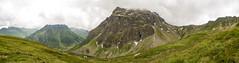 "Mountain ""Madrisa"", 2770m, Alps (jogi.sch) Tags: panorama lightroom alps alpen mountain berg austria montafon gargellen voralberg madrisa canon 6d canonef24105mmf4lisusm clouds nature outdoor green sky lake"