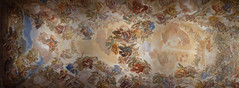 Sklepienie zakrystii katedry w Toledo (jacekbia) Tags: europa hiszpania spain espania kastylialamancha toledo sklepienie zdobienia polichromia koci church religia religion sacristy zakrystia canon 1100d panorama hugin luccagiordano espaa lamancha