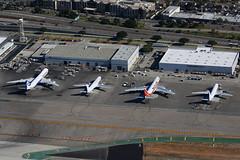 LAX Cargo ramp (Mark Harris photography) Tags: spotting aircraft plane aviation canon lax california losangeles