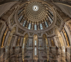 Elks National Veterans Memorial (Jovan Jimenez) Tags: elks national veterans memorial chicago eos canon 70d tokina atx 116 pro dx ii 1116mm f28 kolor autopano autopanopro giga panorama panoramic adobe nik collection hdr archtexture city marble dome illinois fraternal organization headquarters the beaux artsstyle domed building art style pixel gigapixel
