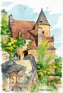 La Roque Gageac petite tour