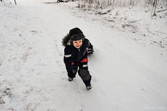 SAM_3851 (Madara Troscenko) Tags: family sweden winter cold january mountain fun skiing snow child kids childhood running sport action friends youth nordic scandinavia documentary blackwhite monochrome samsungnx11 portrait