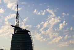 03-IMG_3707 (hemingwayfoto) Tags: berseehaus architektur aussichtsturm bremerhaven center city deutschland frh gebude hochhaus hotel lichtstimmung morgens norddeutschland turm wolken