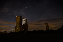 Shooting Star at Reculver (marc_morris1982) Tags: shooting star shootingstar perseid meteor shower reculver kent uk england ruins englishheritage longexposure canon canon70d canoneos eos eos70 70d eos70d sigma sigmadg sigma18200 18200 18200mm sigma18200mm clouds sky night nighttime outdoors outside iso highiso
