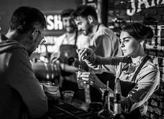 Jameson Cocktails 1 (davidjhumphries) Tags: black white canon 5d 50mm f14 coctails whiskey jameson alcohol bartender barpub drink food dof dublin festival big grill 130816 0816 2016 herbert park
