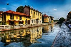 Settembre ai Navigli (MI) (Gianni Armano) Tags: settembre ai navigli mi milano lombardia italia colori riflessi passeggiata ristoranti locali notturni foto gianni armano photo flickr turismo
