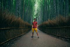 Self Portrait, Arashiyama Bamboo Forest (Xiangk) Tags: