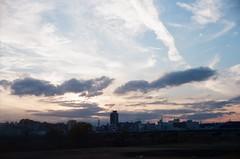 Tama River - Futyu, Tokyo (hirahara3) Tags: yashicaelectro35gt kodakultramax400