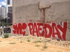 SUJERO + PAEDAY (jACK TWO) Tags: street brazil streetart art wall graffiti lot spray sampa sp vacant vandalism rua paulo sao vilamadalena streetartsp