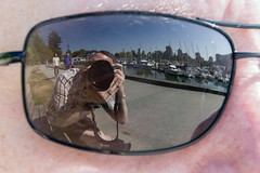 holiday canada sunglasses vancouver reflections john ross britishcolumbia seawall stanleypark 2014