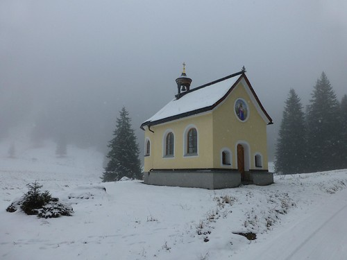 Ischgl Galluskapelle Mittelstation