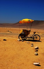Ride to Nowhere (The Big Jiggety) Tags: peru bicycle paracas perou triporteur shieldofexcellence