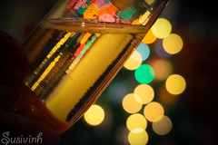 Cheers to the 15! 1:365 (susivinh) Tags: cup glass lights bokeh toast champagne liquid brindis chers champán brindar
