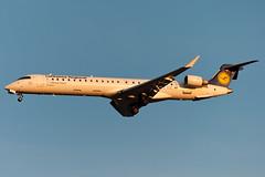 D-ACKL (MikeAlphaTango) Tags: airplane torino aircraft aviation turin lufthansa aereo aviazione avion bombardier