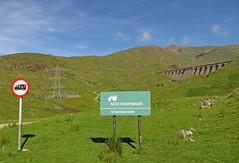Dam Signs (RoystonVasey) Tags: mountain canon scotland ben walk horseshoe hs munro cruachan stob poweshot daimh sx260