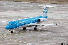 PH-KZP - Fokker F70 - KLM Cityhopper (MikeSierraPhotography) Tags: plane germany fotografie aircraft aviation air cologne köln klm flugzeug fokker f70 planespotting spotter flieger fliegerei planespotter phkzp canoneos700d cgneddk