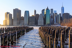 The day after tomorrow (Andrew Thomas 73) Tags: world new york city nyc winter newyork tower ice brooklyn river freedom frozen manhattan center east lower trade