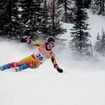 Ryan Moffat, 3rd at Schweitzer GS PHOTO CREDIT: Derek Trussler