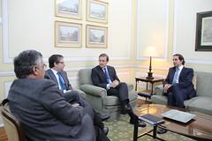 PSD em reunião com líder do PSD/Madeira