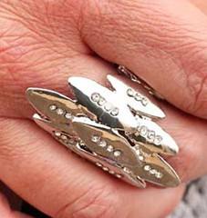 5th Avenue Silver Ring K2 P4141A-2