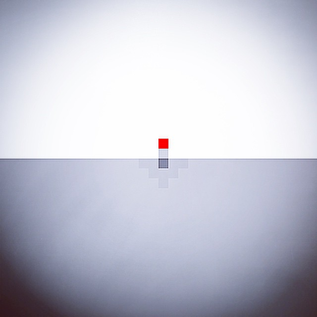 Ant-man minimalist pixel poster. For laughs. #ant-man #Antman #marvel #pixels #poxel #bits #8bit #comics #movies #minimalist