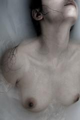 (Sara Baena) Tags: portrait selfportrait art water face self nude pain nikon body fine lips dslr selfie d3100