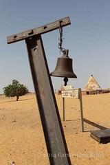 El Kab station (10b travelling) Tags: africa railroad sahara northafrica sudan railway kitchener nile 2013 elkab carstentenbrink iptcbasic